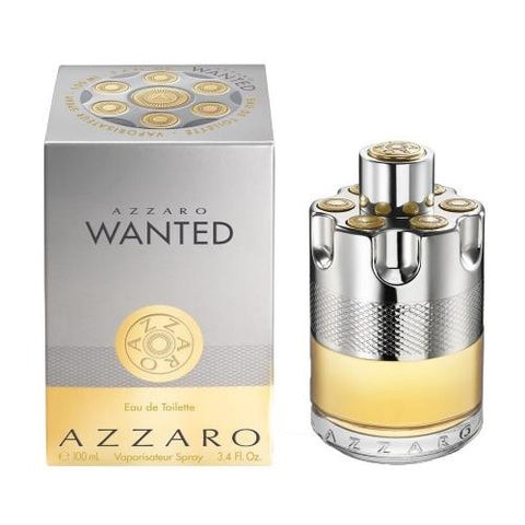 Azzaro Wanted By azzaro Eau De Toilette 3.4 Oz spray For Men