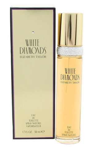 White Diamonds by Elizabeth Taylor Eau de Toilette 1.7 Oz Spray For Women
