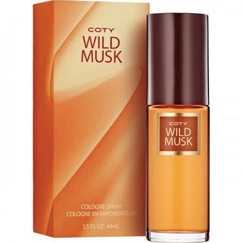 Wild Musk Perfume by Coty 1.5 oz Cologne Spray for Women