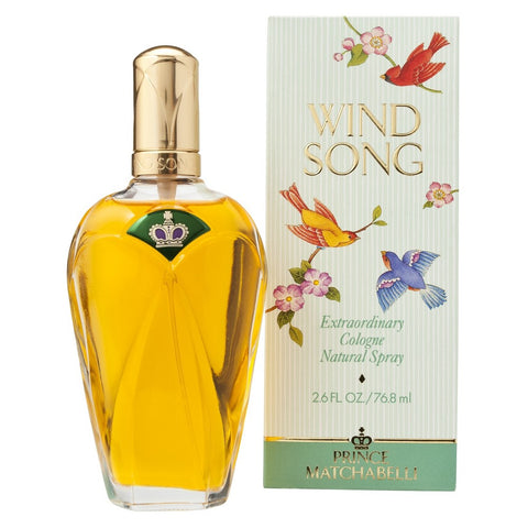 Wind Song by Prince Matchabelli Extraordinary Cologne 2.6 Oz Spray For Women