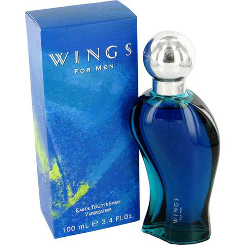 Giorgio Beverly Hills Wings Eau De Toilette Spray 3.4 Oz