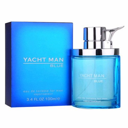 Yacht Man Blue by Myrurgia, 3.4 oz Eau De Toilette Spray for men.