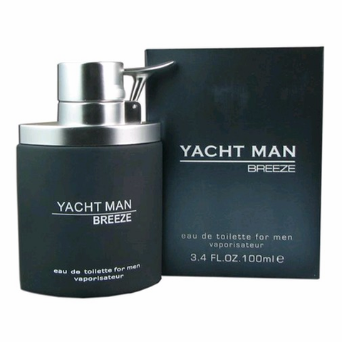 Yacht Man Breeze by Myrurgia, 3.4 oz Eau De Toilette Spray for men
