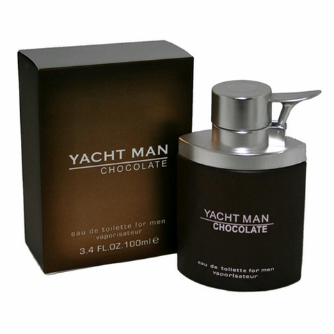 Yacht Man Chocolate by Myrurgia, 3.4 oz Eau De Toilette Spray for men