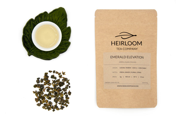 Emerald Elevation - Green Li Shan Oolong