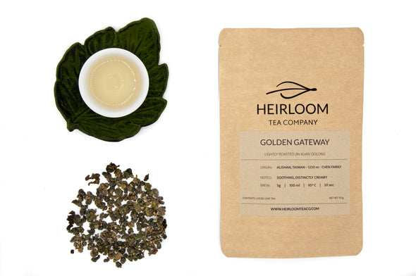 Golden Gateway - Light Roast Jin Xuan Oolong