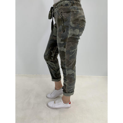 Amici Camo Suede-Bottoms-Amici Clothing-O/S (8-10)-Après-She