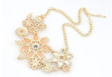 Women Flower Pendant Necklace - Cool Stuff