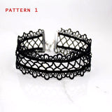 Sexy Hollow Out Lace Black Choker Necklace - Cool Stuff