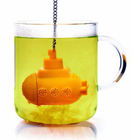 New Silicone Yellow Submarine Tea Infuser - Cool Stuff