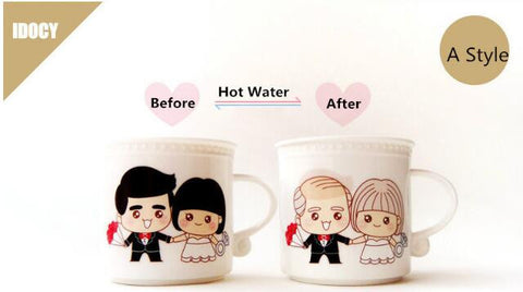 New Arrival Spend A Lifetime Loving You Romantic Color Change Mug