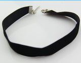 Black Velvet Choker Necklace  Gothic Handmade Handmade Retro Burlesque - Cool Stuff