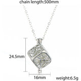 Tree Of Life Dark Luminous Necklaces Silver Color Chain Necklace - Cool Stuff