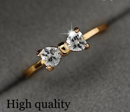 Austria Crystal Rings Gold Color - Cool Stuff