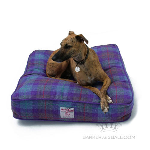 Harris Tweed Designer Dog Bed