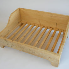 Handmade Reclaimed Wooden Dog Bed