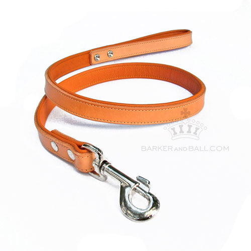 Padded Leather Dog Lead