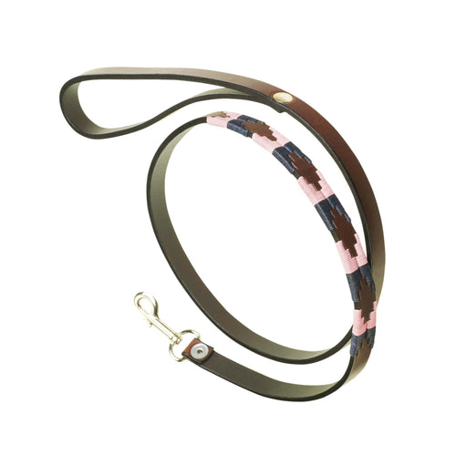 Argentinian Leather Polo Belt Dog Lead - Hermoso