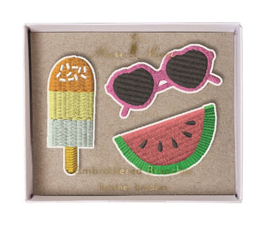 Summertime Brooches Meri Meri All Dressed Up