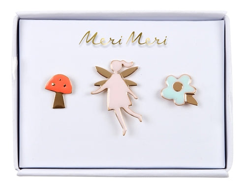 Fairy Enamel Pins Meri Meri All Dressed Up