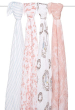 Swaddles 4 Pack Bird Song