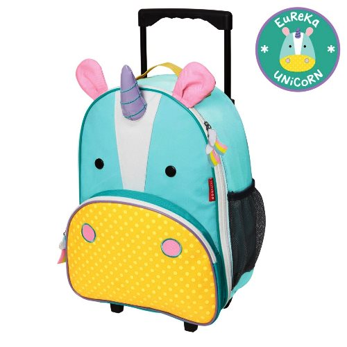 Skip Hop Rolling Luggage Unicorn