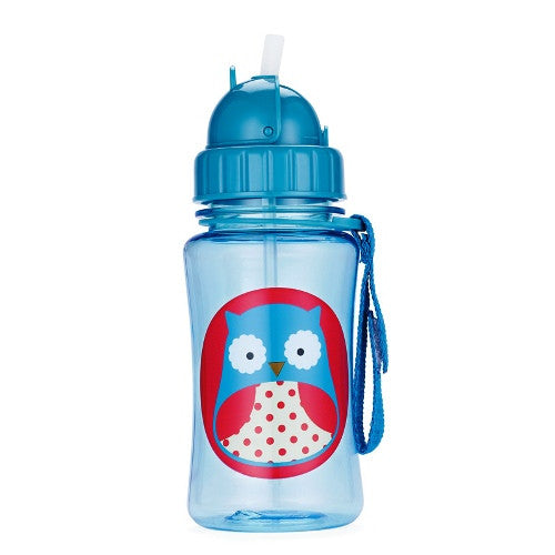 Skip Hop Straw Bottle Owl