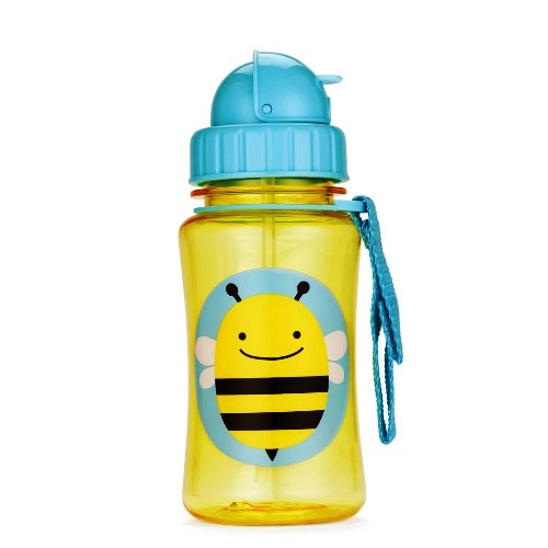 Skip Hop Straw Bottle Bee