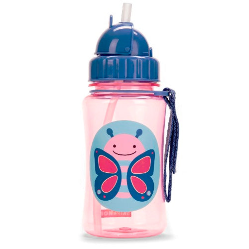 Skip Hop Straw Bottle Butterfly
