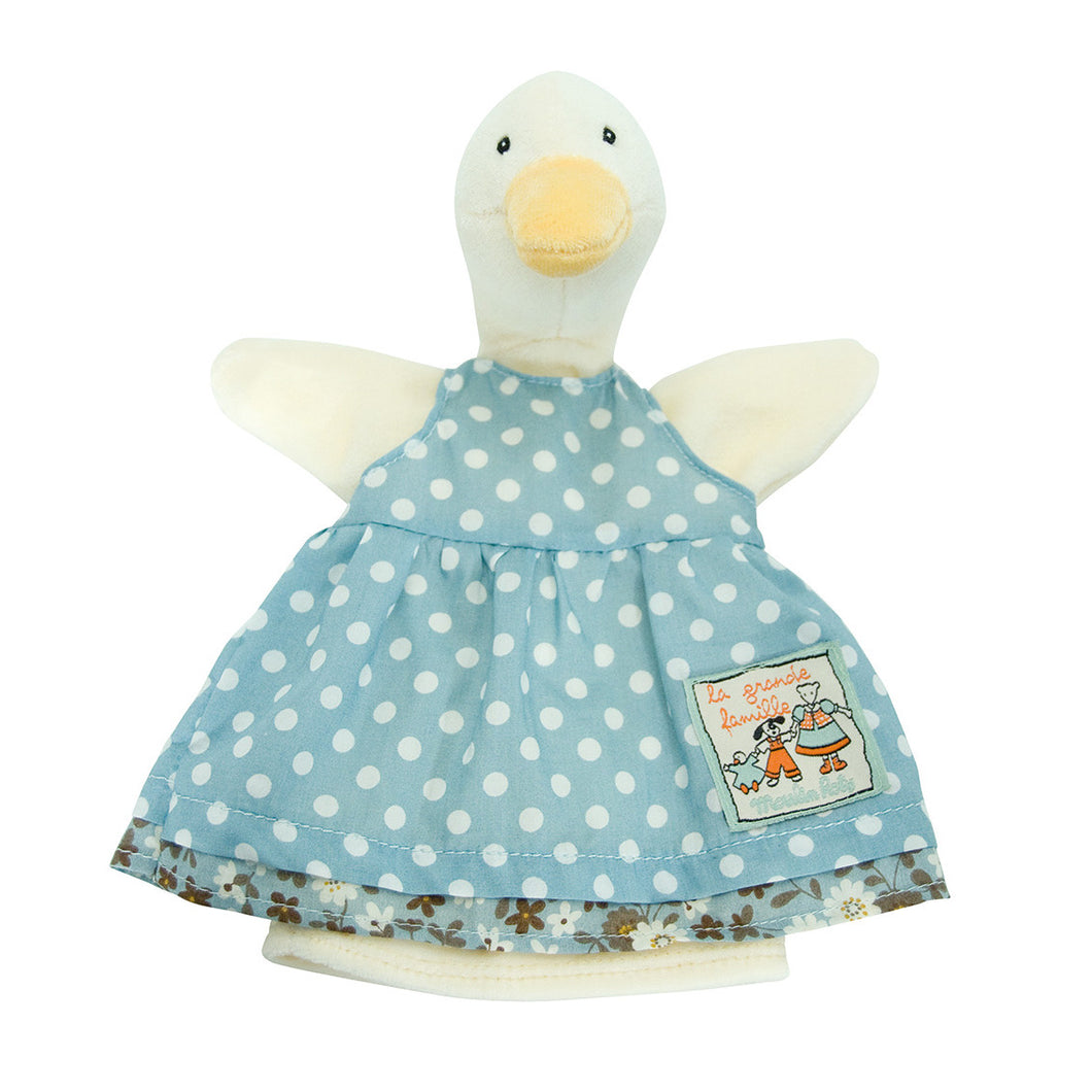 Moulin Roty Hand Puppet Jeanne Duck