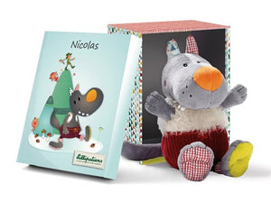 Nicholas the Wolf Lilliputiens Soft Toys