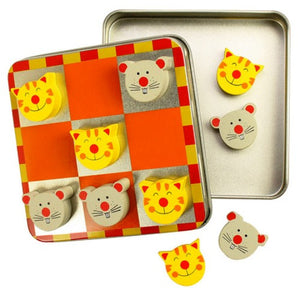 Noughts & Crosses Cat & Mouse Bigjigs Puzzles and Games