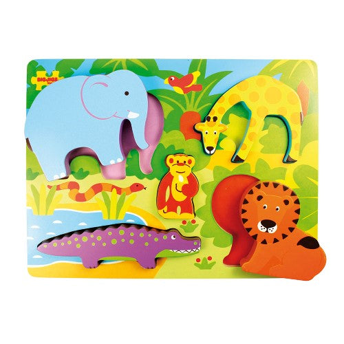 Bigjigs Chunky Lift Out Puzzle Safari