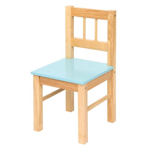 Wooden Chair - Blue