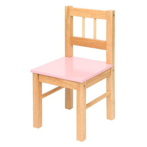 Wooden Chair - Pink