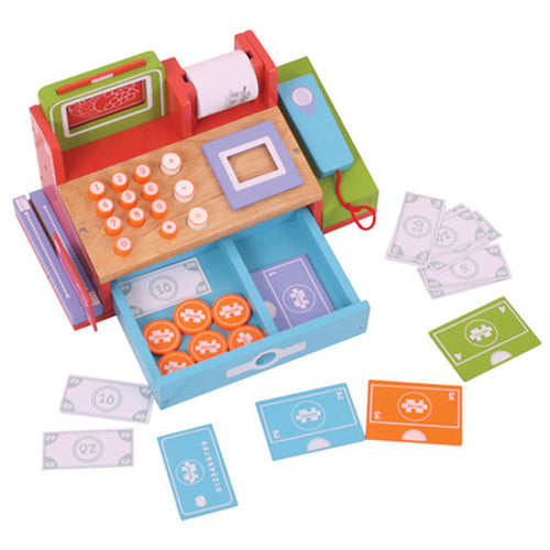 Shop Till with Scanner Bigjigs Pretend Play