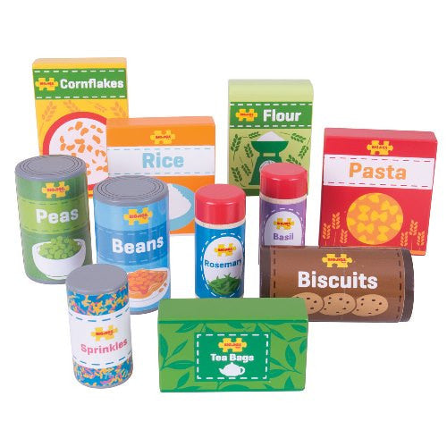 Cupboard Groceries Bigjigs Pretend Play