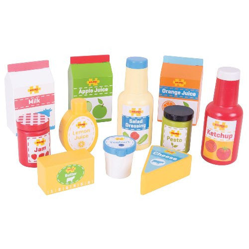 Chilled Groceries Bigjigs Pretend Play