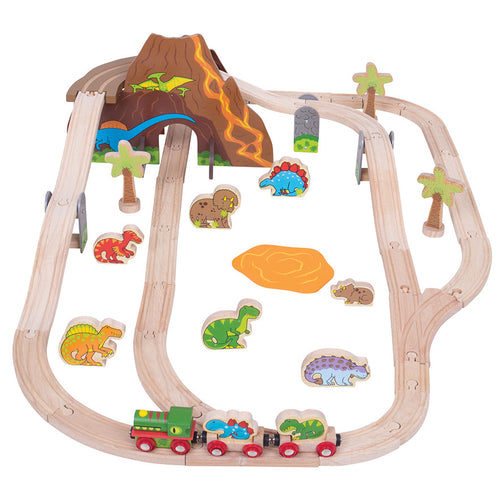 Dinosaur Train Set Bigjigs Railway