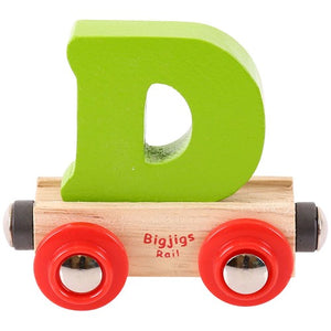Rail Name Letters and Numbers Bigjigs Railway