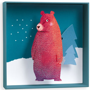 Wall Art Bear Djeco Kids Room and Nursery