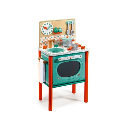 Leo's Cooker Djeco Pretend Play