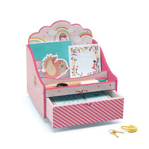 Pink Secret Garden Stationery Bureau Djeco Kids Room and Nursery