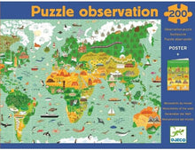 Observation Puzzle Around the World Djeco Puzzles and Games
