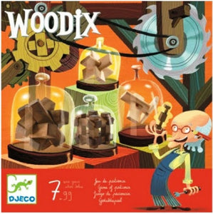 Woodix Djeco Puzzles and Games