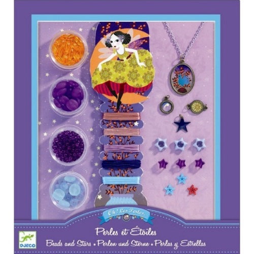 Oh! Les Perles Beads and Stars Djeco Pretend Play
