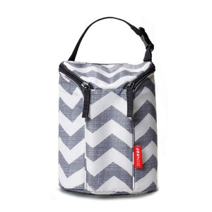 Skip Hop Double Bottle Bag Chevron