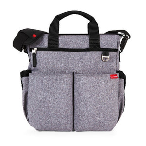 Skip Hop Baby Bag Duo Signature Heather Grey