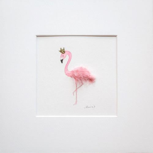 Mimmidesign Wall Art Flamingo