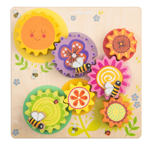 Gears and Cogs Busy Bee Learning Le Toy Van Wooden Toys